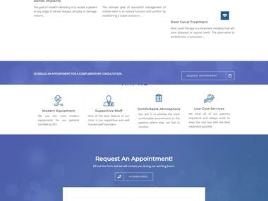 Website Development- drjain dentocare
