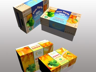 Designing packaging of Fruit