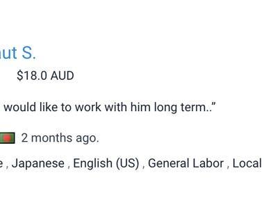 Translation English to Japanese and vise versa