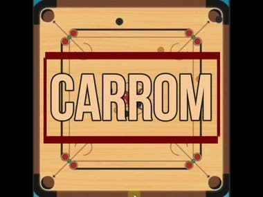 Carrom Game for 2 Players Prototype