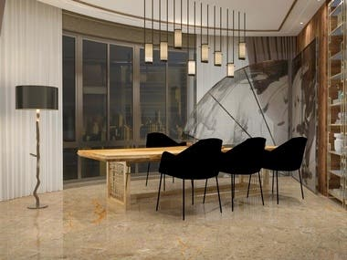 Offices & Study room CAD Designs