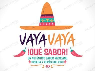 logo comida mexicana