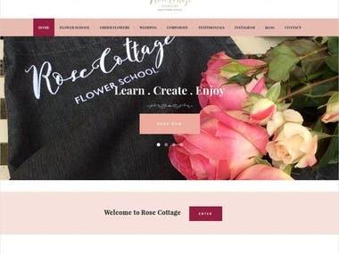 Rose Cottage Corporate Website