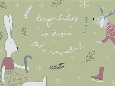 Digital Christmas greeting