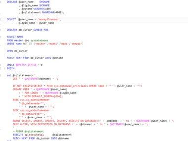 T-SQL Complex Server Level Trigger