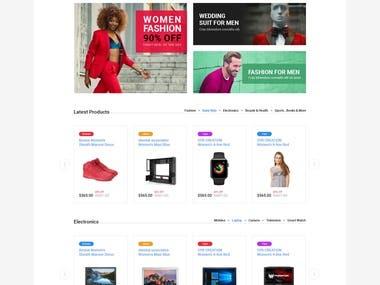 Decart - eCommerce PSD Template