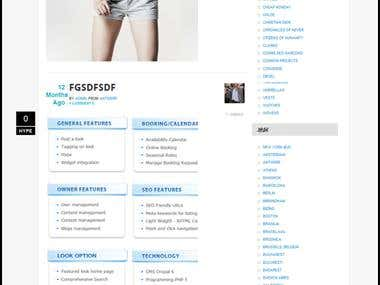 Drupal6 Fashion Social Networking