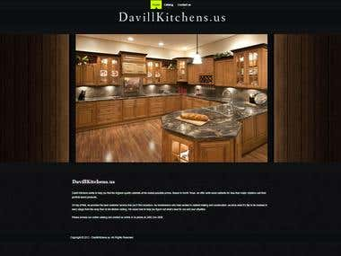 Joomla Site Design: davillkitchens.us