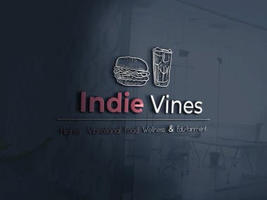 Indian vine Logo Design