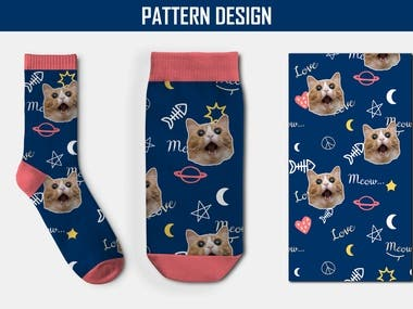 Socks Pattern Design