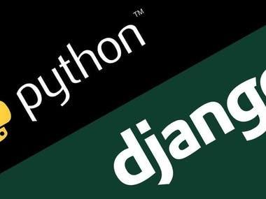 Python & Django Flask development