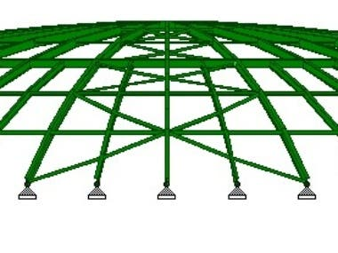 Tank Dome Roof