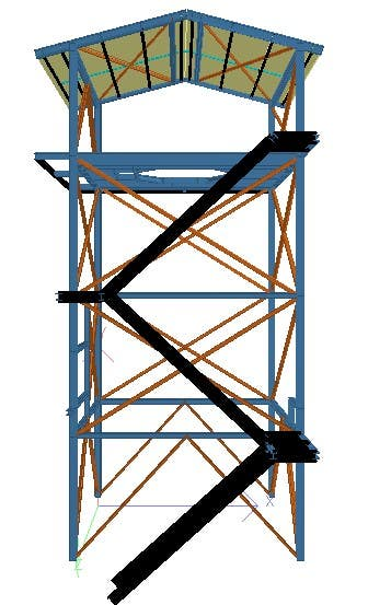 Verticle Heater Cylinder Shed Structure