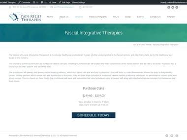 Fascial Integrative Therapies