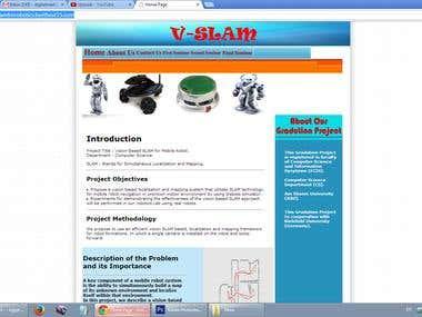 Vision-based SLAM For Mobile Robot