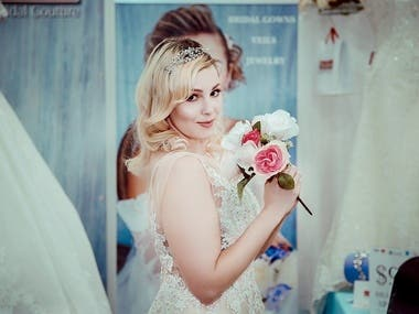 Wedding Photography Bride retouched