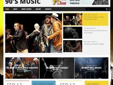 90 music festival blog