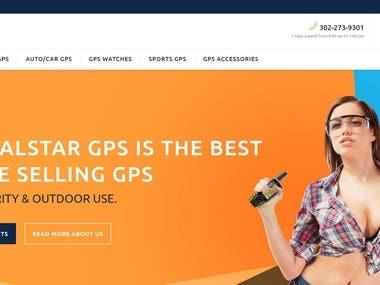 GPS Ecommerce Site