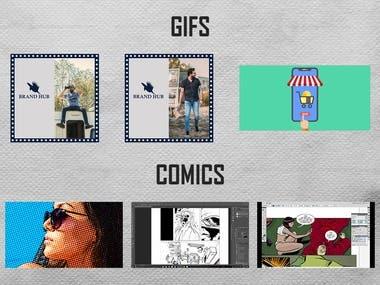 GIFS & Comics