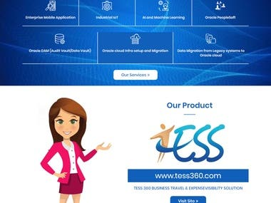 IT Business Website