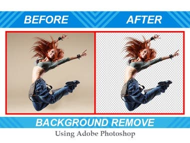 Remove background and clipping path