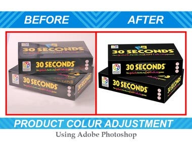 PRODUCT COLOR ADJUSTMENT