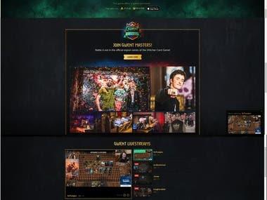 Gamming Website