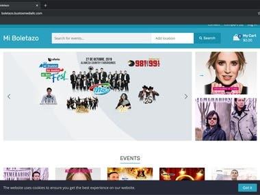 Mi Boletazo Web Application
