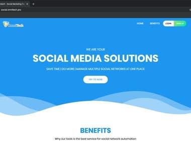 OmniTech Web Application