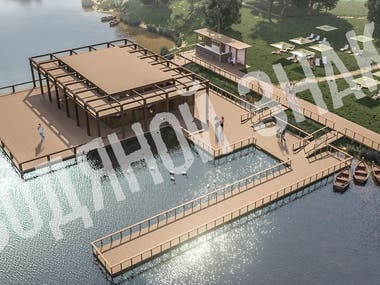 Lake Cafe design
