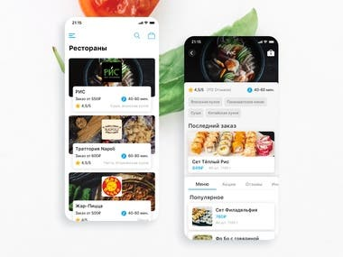 Food order&delivery app