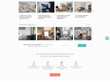 Real Estate Platform - React