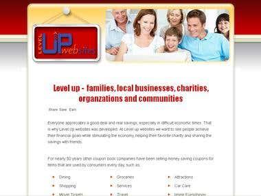 A multi level marketing(MLM) website