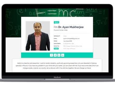 HTML Portfolio Website