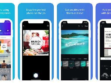 Instagram Story App