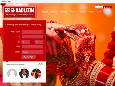 Matrimonial Portal