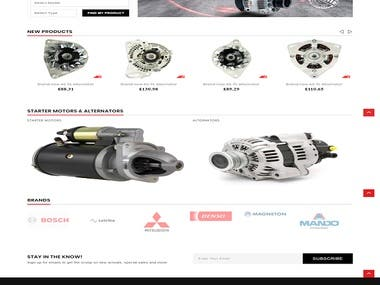 Car part sales website UK based