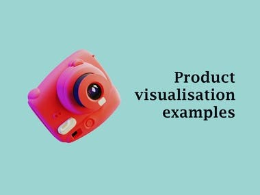 Product visualisation examples