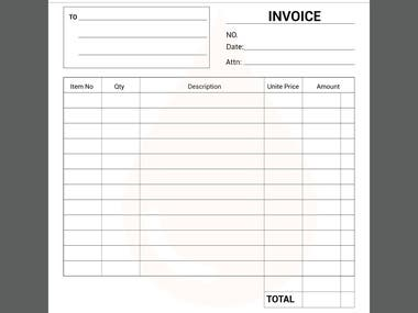 Quatation, Invoice and LPO