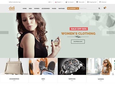 Shopping Web site