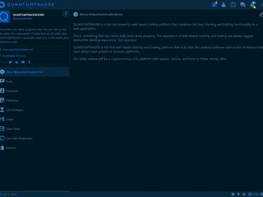 Desktop app development in Electron and VueJS