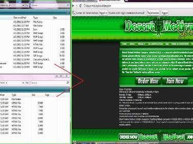 PSD to HTML (Wordpress)