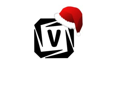 I can put santa/Christmas hat on logo with animation