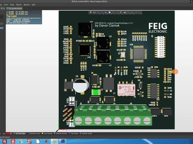 IO module for RFID scan reader
