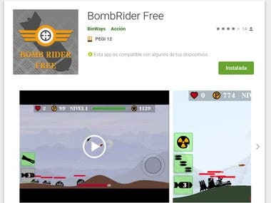 BombRider (amdroid Game)