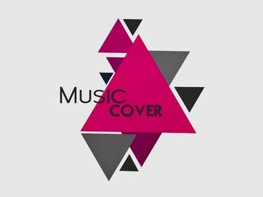 Animated music cover