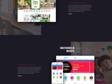 Web Agency Design proposals Homepage