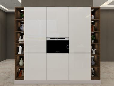 MODULAR ISLAND KITCHEN