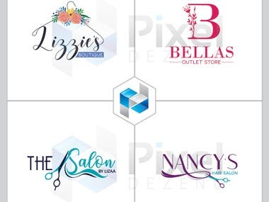 Salon, Boutique logo