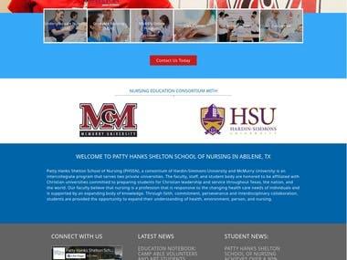 Patty Hanks Shelton School of Nursing (PHSSN)